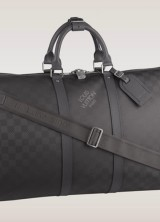 New Carbon Version of LV Damier Keepall Bandoulière