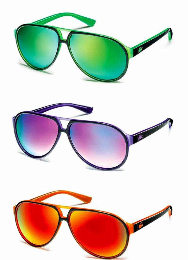 aviator style sunglasses z9ju  New Lacoste Aviator-Style Sunglasses New Lacoste Aviator-Style Sunglasses