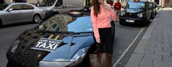 Ride In London's First Lamborghini Cab