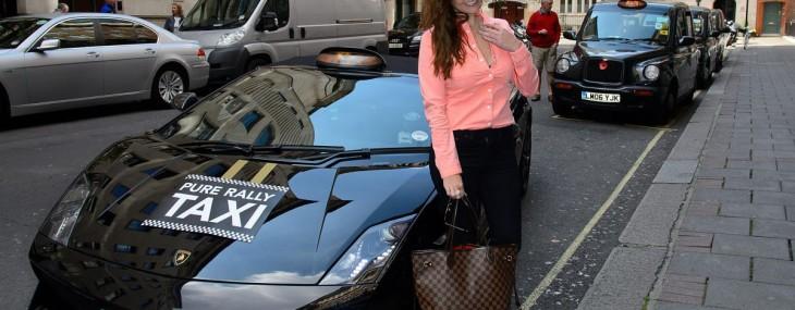 Ride In London's First Lamborghini Cab