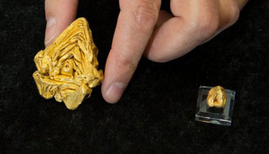 World's Largest Gold Nugget Created from a Single Crystal Worth $1.5 Million