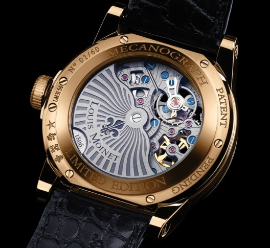 Limited-Edition Louis Moinet Mecanograph is Debuted at Baselworld