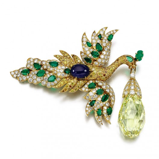Impressive Selection of Signed Jewels at Sotheby's Geneva Auction