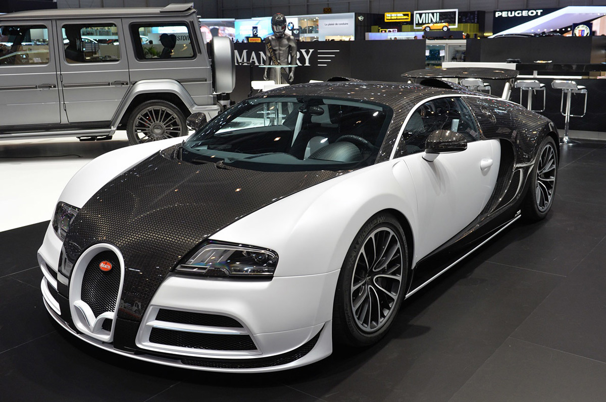 Mansory Bugatti Veyron Vivere On Sale For $3,466,000