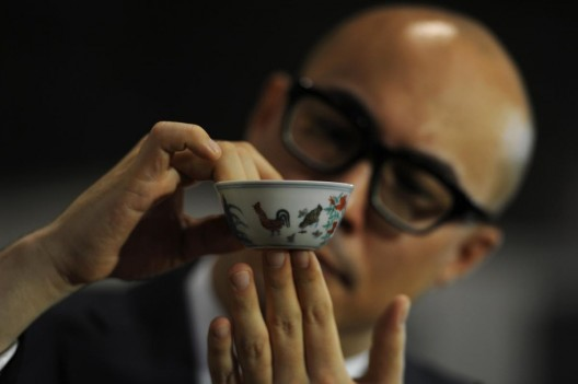 Small Chinese cup sells for $36 million