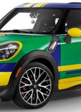 Mini Paceman GoalCooper Special Edition For World Cup In Brazil