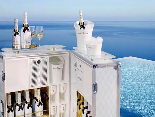 Moët & Chandon Ice Impérial Summer Escape Trunk Is Available At Selfridges