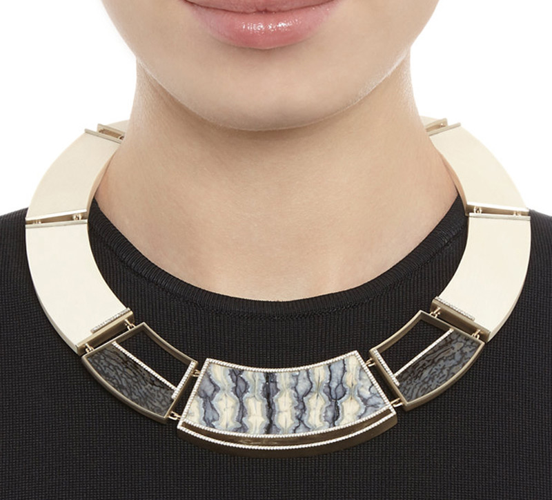 Monique Péan's Woolly Mammoth & Dinosaur Bone Necklace Is More Eco-Friendly Than You Might Think