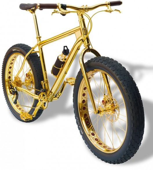 The World's Most Expensive Mountain Bike Made Of Gold