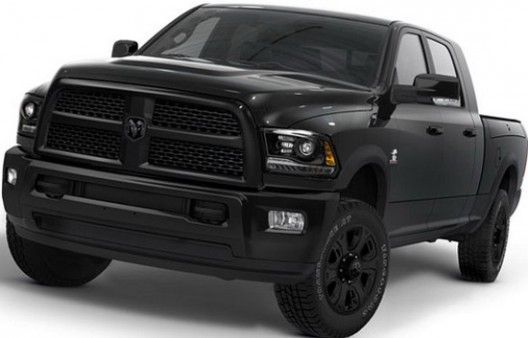 fter Black Express package for Ram 1500, Chrysler has prepared for the Ram Heavy Duty version Black Package