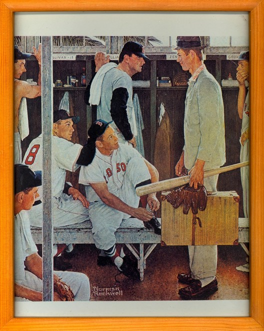 Rockwell's 'The Rookie' to be auctioned May 22 at Christie's