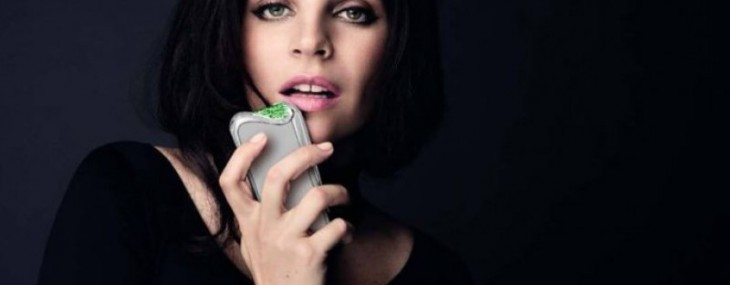 Savelli Launch Emerald-Encrusted Smartphone At Harrods
