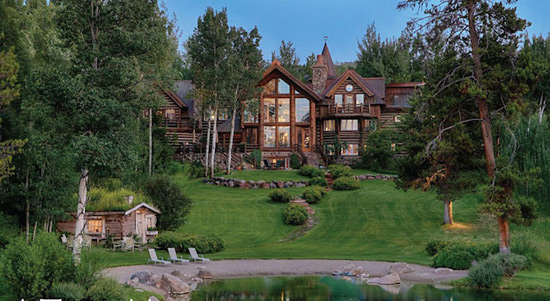 Singing Trees - Magnificent Lakefront Estate in Wyoming on Sale for $18,9 Million