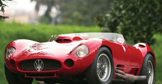 Stirling Moss Maserati 450S At RM Auctions