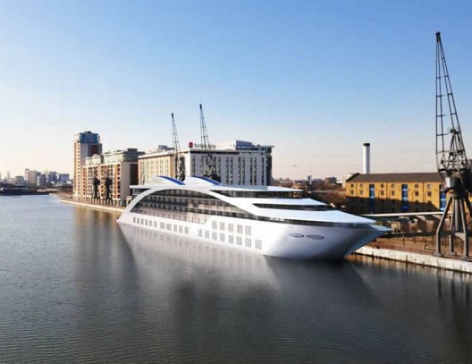 Sunborn – A five-story luxury floating hotel is all set to woo Londoners