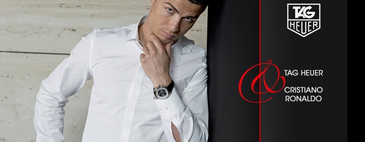Christiano Ronaldo Is New TAG Heuer Brand Ambassador