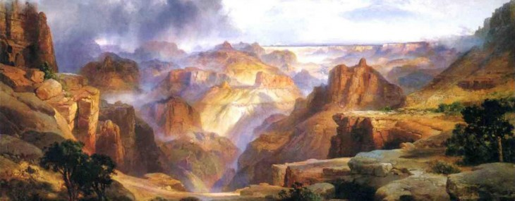 Christie's sale of American Art on May 22 will feature Thomas Moran's (1837-1926) magnificent large-scale painting The Grand Canyon of the Colorado.