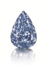 World's Largest Flawless Vivid Blue Diamond at Christie's Geneva