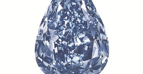 World's Largest Flawless Vivid Blue Diamond at Christie's Geneva