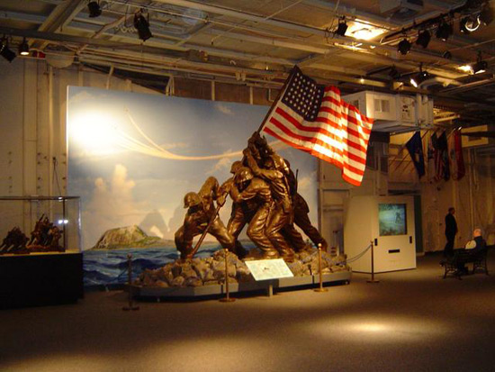 Original 1945 DeWeldon Iwo Jima Monument at Bonhams Auction