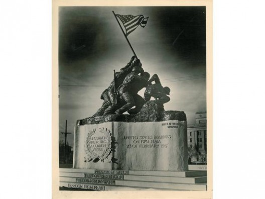 Original 1945 DeWeldon Iwo Jima Monument at Bonhams Auction