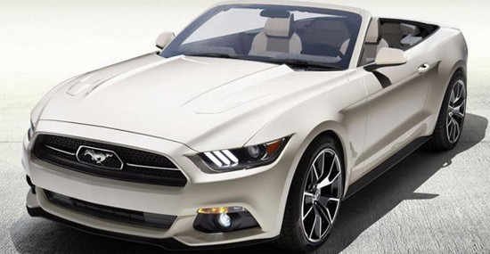 2015 Ford Mustang 50 Years Convertible On Auction