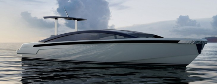 "9.5m Limousine Tender Made to Accompany 73m ""Mothership"""