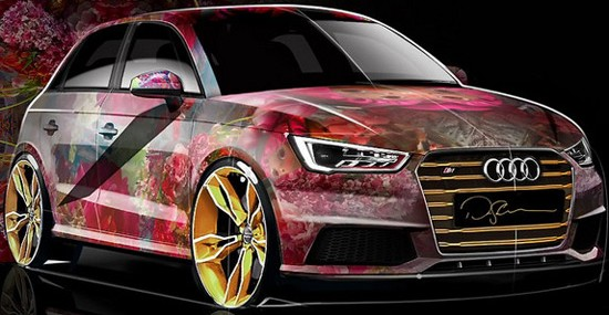 Audi S1 Sportback By David LaChapelle For Life Ball