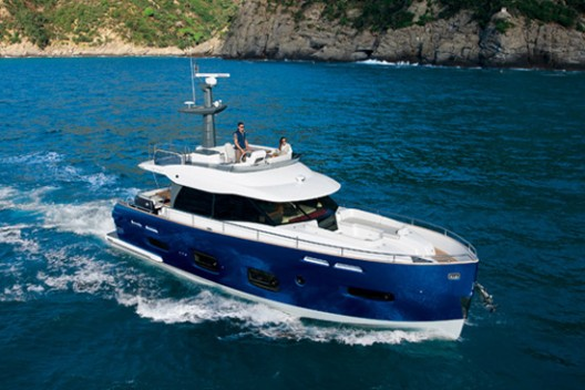 Azimut Yachts receives an ADI Compasso d'Oro Award Honourable Mention: and with Azimut Magellano 50