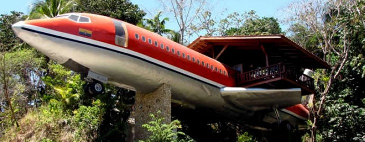 Boeing 727 Fuselage Suite – Part of the Costa Verde Resort
