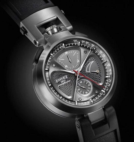 The Bovet 1822 Sergio Split-Second Chronograph by Pininfarina
