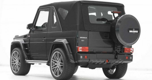 G-class Mercedes has offered a complete kit for the modification