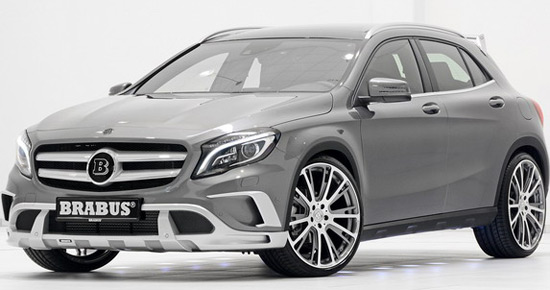 Brabus has presented new crossover GLA