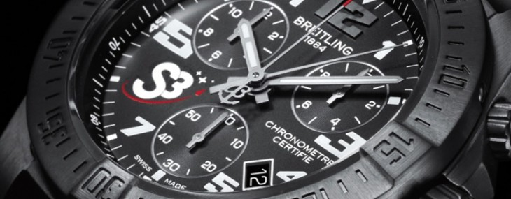 Breitling S3 ZeroG Chronograph is specially designed for weightless flights