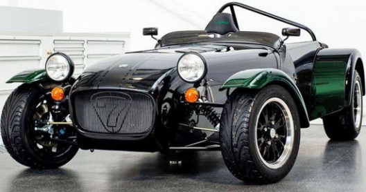Caterham Cars for the Japanese market is introduced a new special edition of model Seven