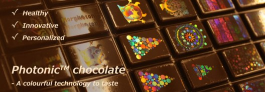 Beautiful Chocolates Etched With Edible Holograms