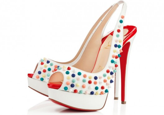 Christian Louboutin's vibrant SS 2014 collection
