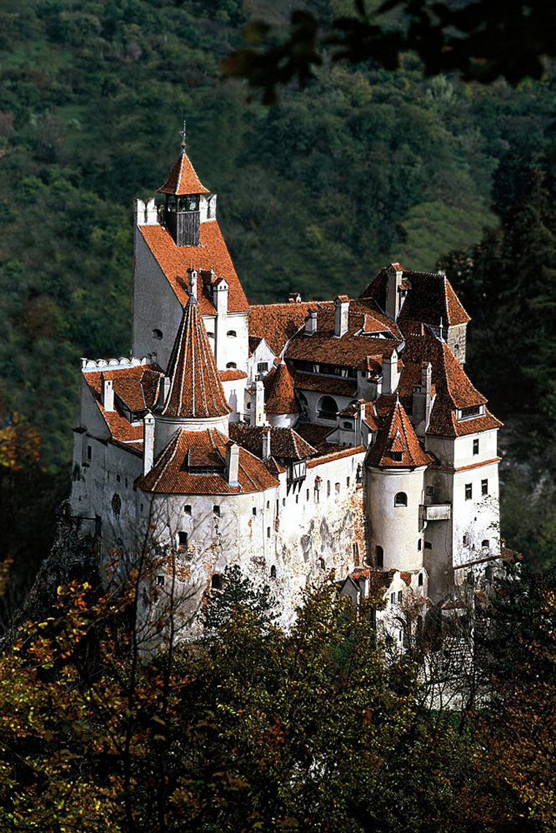 Buy Dracula's Infamous $80M Bran Castle & Live Like a Real Vampire