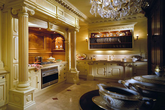 Luxury and elegant kitchens by clive christian extravaganzi - Luxury kitchen cabinets ...