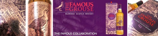 British artist and illustrator Vic Lee has created a design for The Famous Grouse  a limited edition bottling of a 16-year-old double-matured blended Scotch whisky that will only be available in Asia.