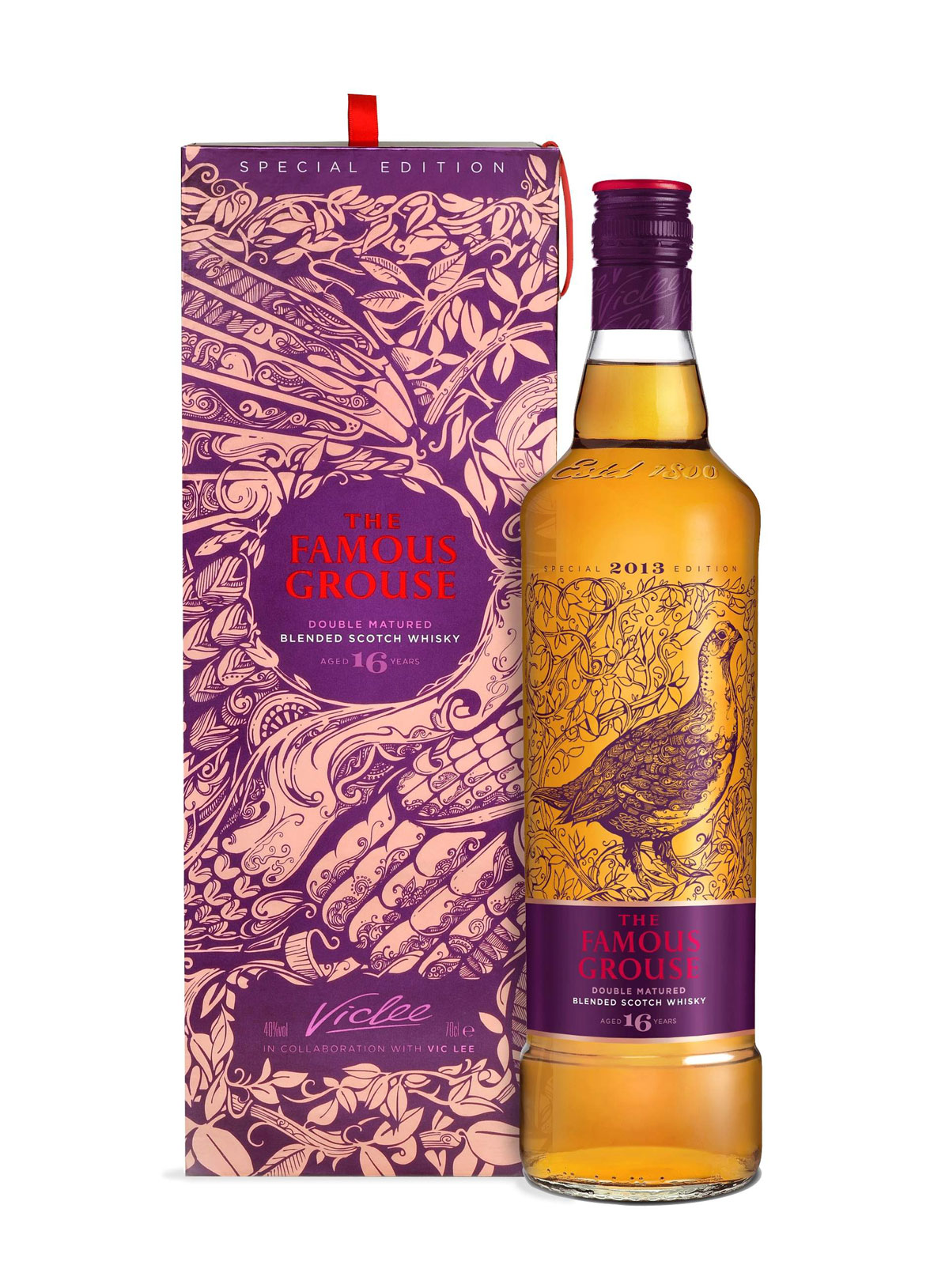 Famous Grouse 16 Year Old Vic Lee Edition For Asian Market