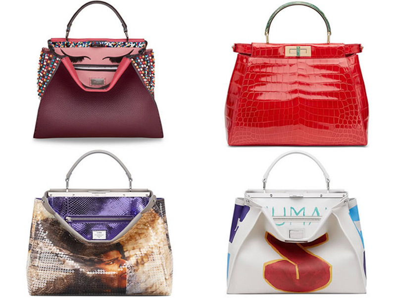 Cara Delevingne, Gwyneth Paltrow And Adele Create The Ultimate Customised Fendi Peekaboo Bags pictures