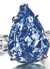 World's Largest Flawless Vivid Blue Diamond Reached $23.79 Million