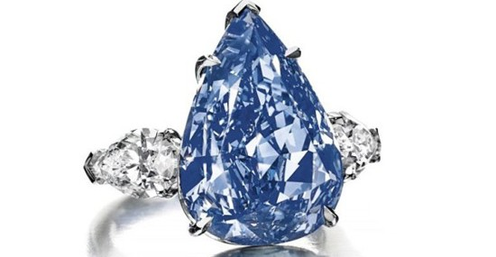 World's Largest Flawless Vivid Blue Diamond Reached $23.79 Million