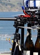"""Flying Champagne"" at California's Casa Madrona Hotel"