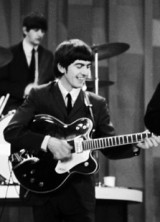 George Harrison's Guitar Fetched $657,000 at Julien's Auctions