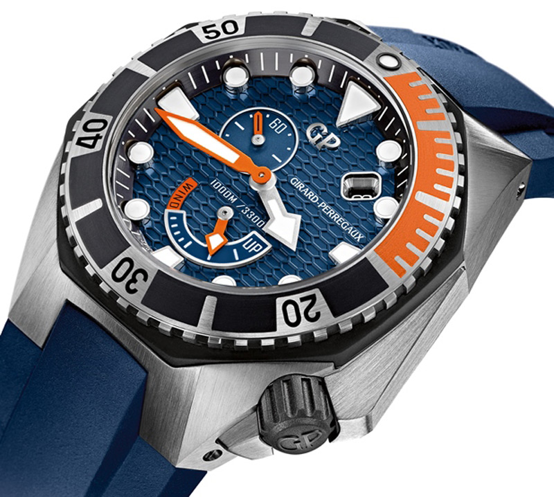 New Girard-Perregaux Sea Hawk in Cobalt Blue