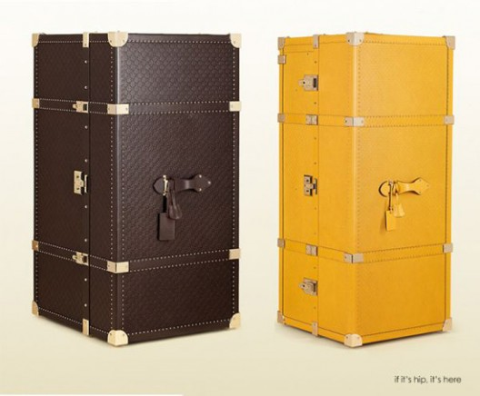 Gucci Launches Two Precious Leather Travel Trunks Costing $50,000 Each