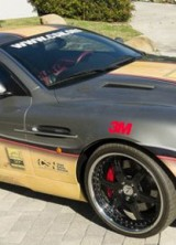 $1.5Million Aston Martin With Signatures Of The Famous NBA Players