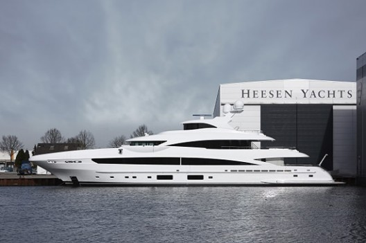 Heesen Set to Deliver another Stunning Superyacht Dubbed 'My Sky'
